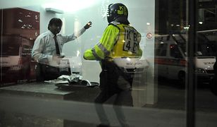 Londyńscy policjanci są przekonani, że walizka została ukradziona, zanim pociąg ruszył z Euston