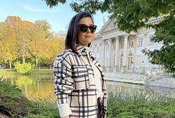 Jesienna stylizacja Katarzyny Cichopek. Jej kurtka koszulowa to hit tego sezonu!