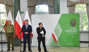 Doniesienie do prokuratury po konferencji Błaszczaka i Kamińskiego