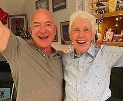 Amazon. Jeff Bezos poprosił 82-latkę, aby... poleciała z nim w kosmos!