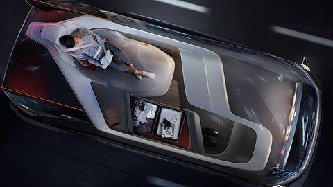 Volvo 360c – w tym aucie będziesz mógł przespać całą podróż!