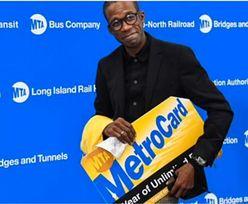 Bohater nowojorskiego metra. Dostał na urodziny nietypowy prezent