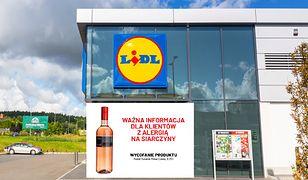 Lidl wycofał ze sprzedaży wino.