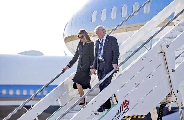 Drugi samolot wylądował. Jak Polska przyjmie Donalda Trumpa?