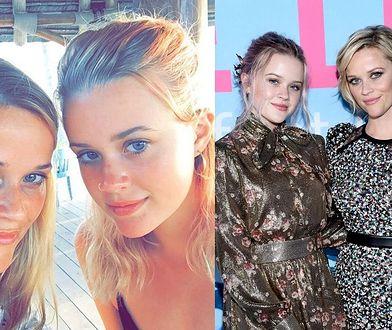 Reese Witherspoon na zdjęciach z 18-letnią córką. Wyglądają jak bliźniaczki!