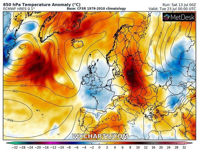 Pogoda. Światowe modele są zgodne. Nad Polskę wracają upały i żar