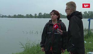 """Powódź w Suchym Gruncie. """"Jeśli wały puszczą, to będzie masakra"""""""