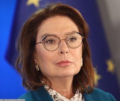 Małgorzata Kidawa-Błońska bez złudzeń: to Jaśkowiak jest bliższy Schetynie