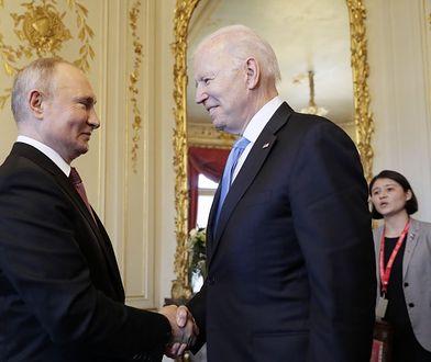 Szczyt Biden-Putin. Spotkanie przywódców USA i Rosji