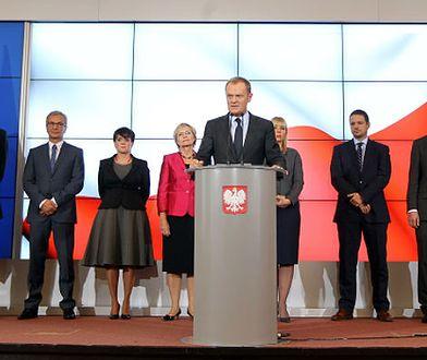 Rekonstrukcja rządu. Donald Tusk ujawnia nazwiska odwołanych ministrów