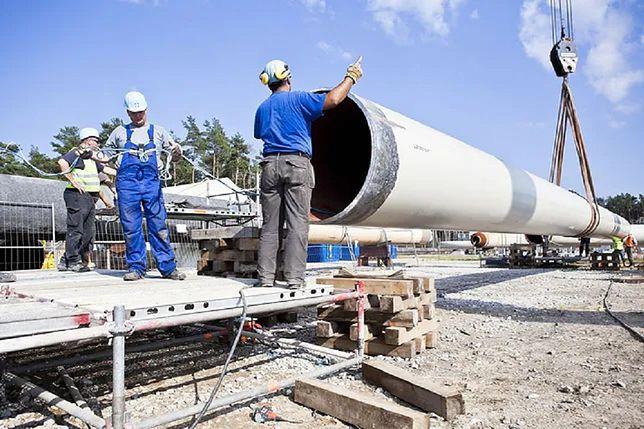 Nord Stream 2; gazociąg