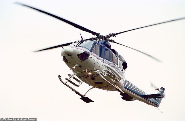 Sześciolatek oślepił pilotów helikoptera czeskiej policji
