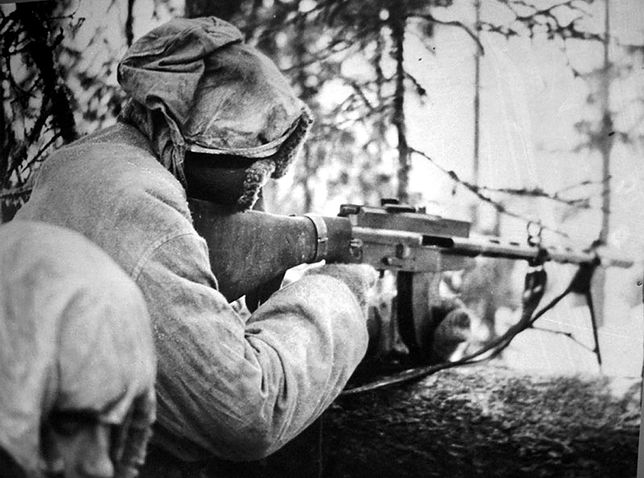 Wojna Zimowa - obrona Finlandii przed Armią Czerwoną