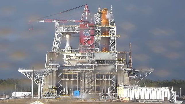 NASA szykuje się do ważnego testu z udziałem rakiety SLS