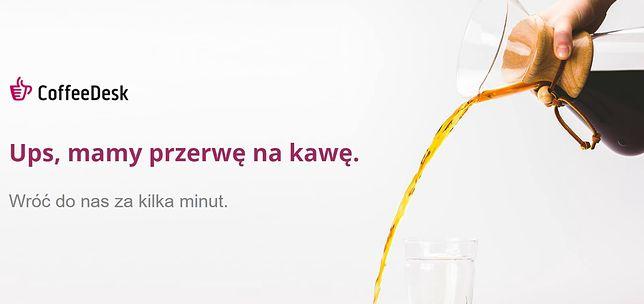 CoffeeDesk shakowane