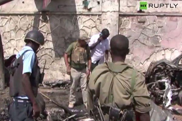 Zamach na konwój ONZ w Somalii - 4 osoby nie żyją