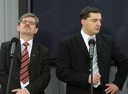 Prezes LPR odchodzi; partię opuszczają też Dobrosz i Bosak