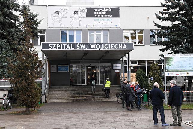 Gdańsk. Szpital św. Wojciecha