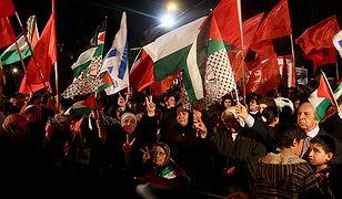 """Palestyna protestuje: """"Nie czystce etnicznej!"""""""