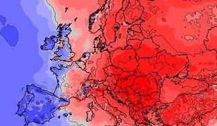 1 listopada może paść rekord ciepła. Mapa pokazuje anomalie temperatury wobec średniej wieloletniej
