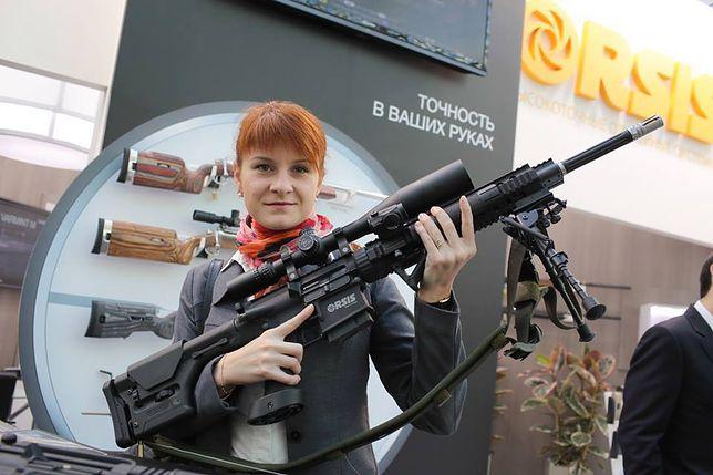 Maria Butina docierała do wpływowych Amerykanów poprzez zamiłowanie do broni
