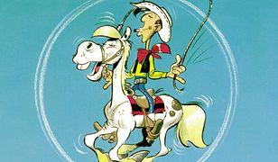 Cyrk Western. Lucky Luke