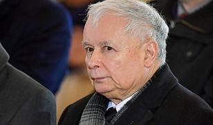 Jarosław Kaczyński najprawdopodobniej nie pojawi się na pogrzebie Pawła Adamowicza. Na zdjęciu podczas mszy w 6. rocznicę śmierci Jadwigi Kaczyńskiej.