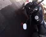 Czarny lód - zimowa zmora motocyklistów