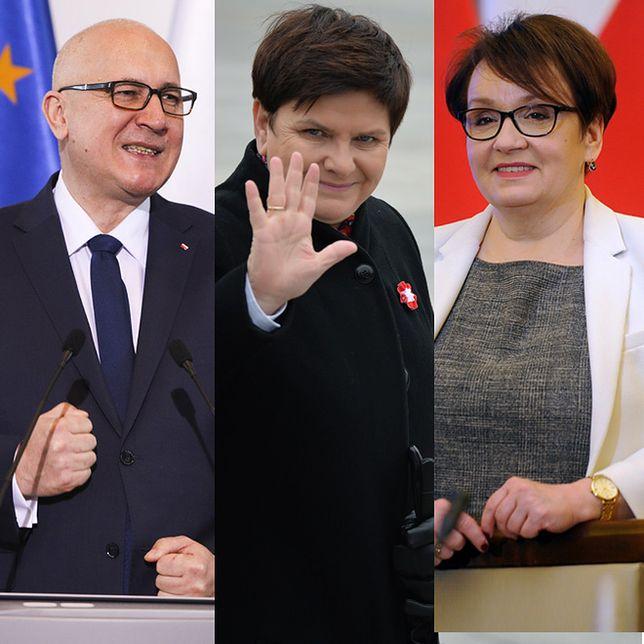 Podano jedynki i dwójki PiS na listach do PE. Startują m.in. Szydło i Brudziński