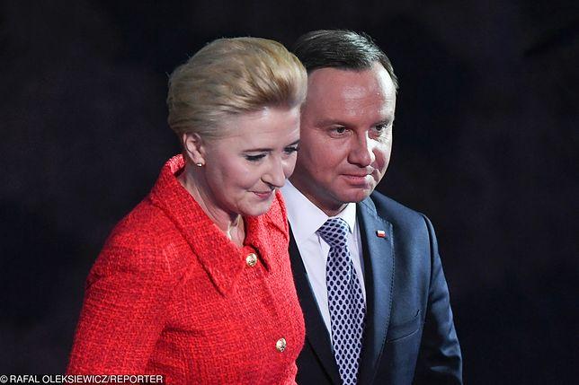 Andrzej Duda złożył życzenia z okazji walentynek