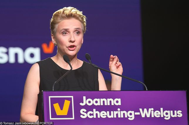 Joanna Scheuring-Wielgus reaguje na burzę w sieci.