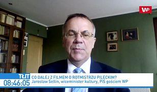Jarosław Sellin zabrał głos ws. filmu o Witoldzie Pileckim
