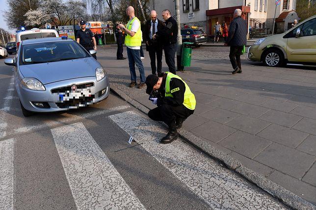 Policja natychmiast zatrzymała mężczyznę