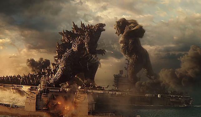 """""""Godzilla vs. Kong"""" - wielki sukces w kinach."""