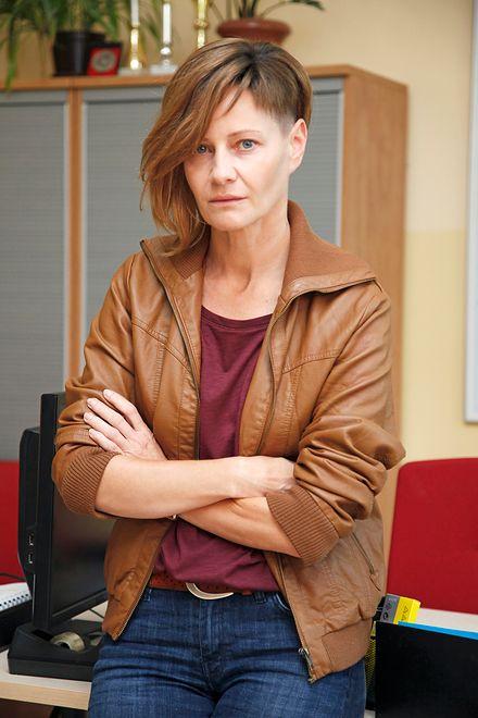 Małgorzata Kożuchowska na planie filmu Patryka Vegi.