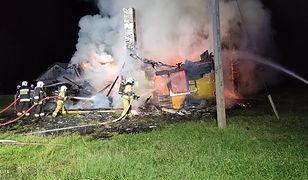 Tragedia w Lubelskiem. Spłonął we własnym domu.