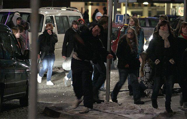 Interwencja policji w Kielcach - zdjęcia