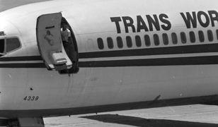 Porwany samolot