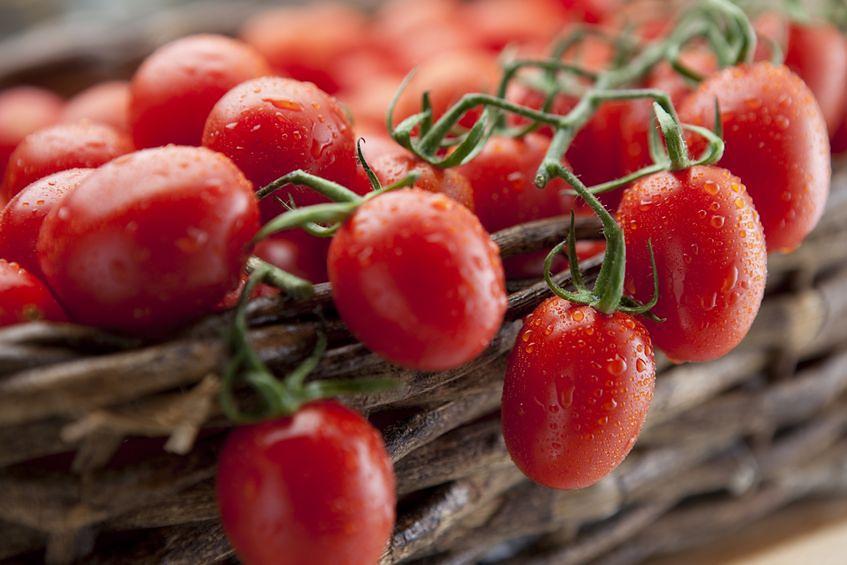 Pomidory - 23 mg witaminy C w 100 g produktu