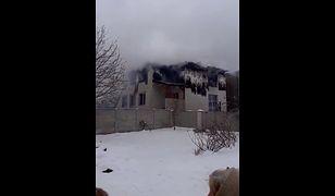 Ukraina. Pożar w domu opieki w Charkowie. Nie żyje 15 osób