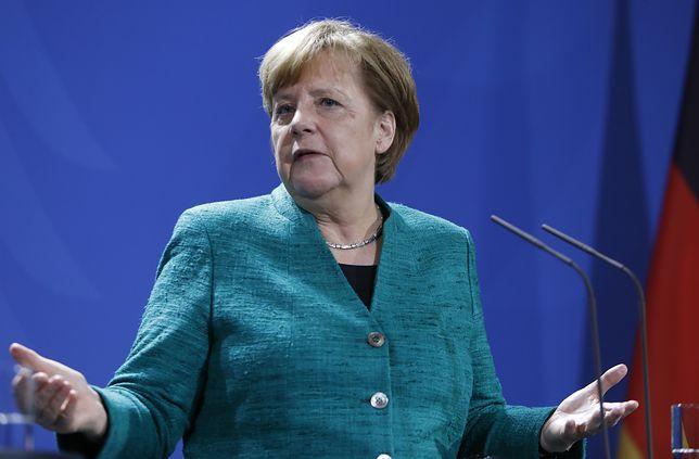 Angela Merkel chce powiązać wypłatę pieniędzy z budżetu UE z przyjmowaniem uchodźców