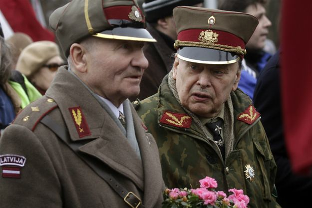 Weterani Łotewskiego Legionu Waffen SS
