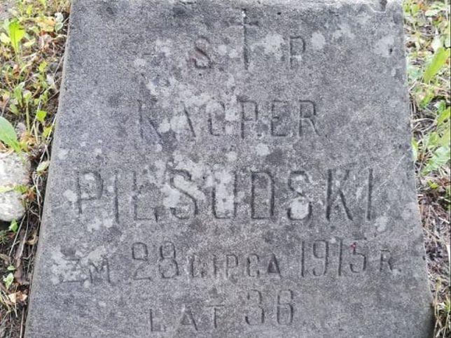 Grób najmłodszego brata Józefa Piłsudskiego odkryto przypadkowo