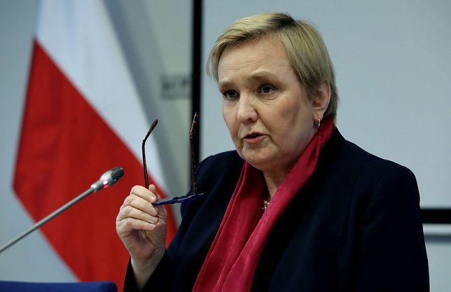 Listy z groźbami trafiły do biura eurodeputowanej