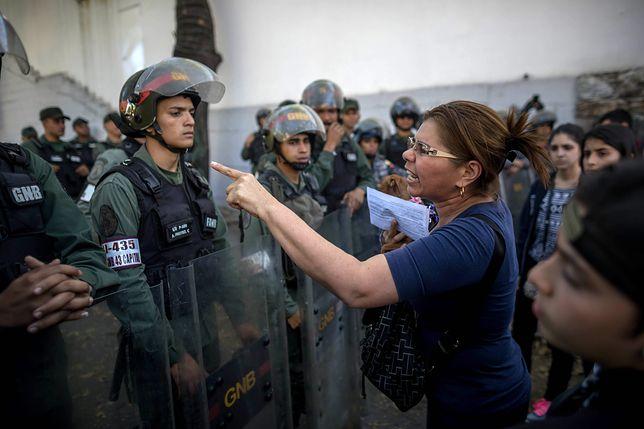 Starcia wojska z opozycją w Wenezueli