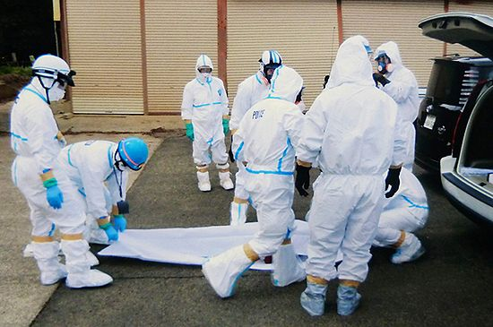 Ciała dwóch pracowników odnalezione w Fukushimie