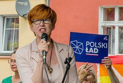Rafalska: opozycja nam zdziczała. Wicerzecznik PiS broni europosłanki