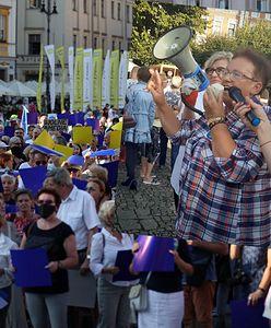 """Radna PiS przeciwko """"Lex TVN"""". Protestowała w Lesznie"""