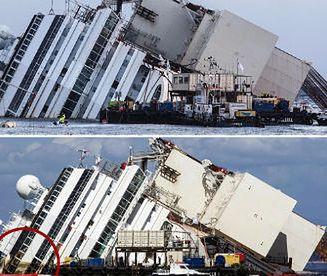 Operacja podniesienia statku Costa Concordia