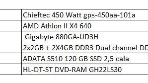 Krótko o Seagate Expansion 1TB - Specyfikacja mojego komputera